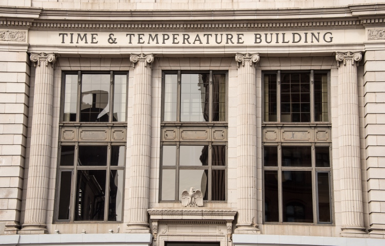 Time & Temperature Building, Portland, Maine, USA