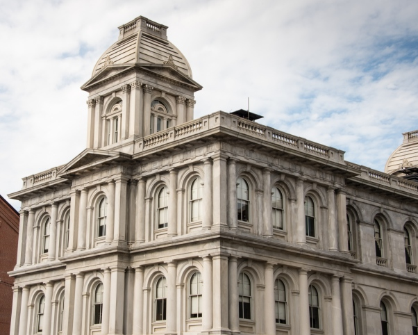 United States Customs House, Portland, Maine, USA