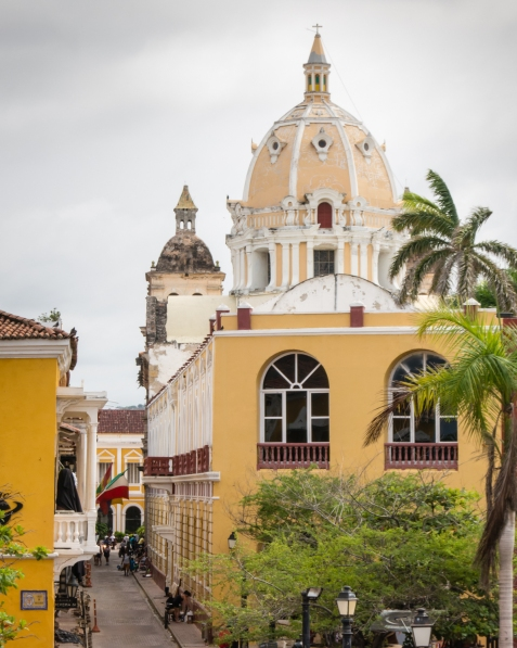 Convento & Iglesia de San Pedro Claver (San Pedro Claver Cathedral & Convent), begun in the first half of the 1600s, Cartagena, Colombia