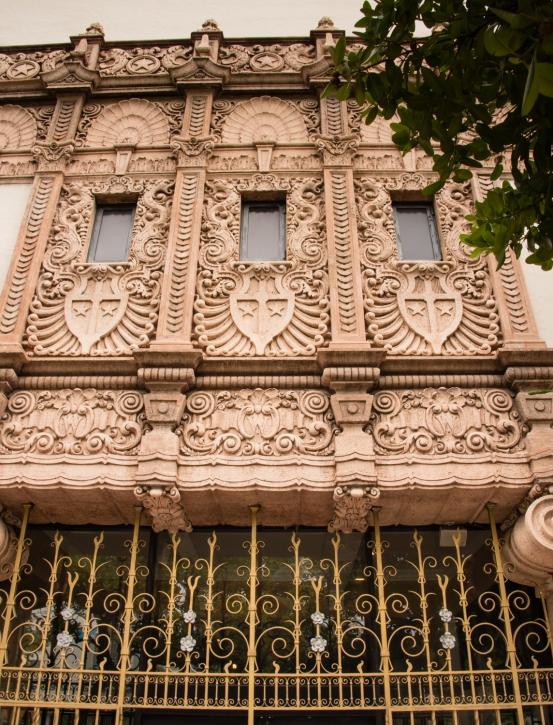 Exterior Art Deco facade of the Wolfsonian-FIU in South Beach, Miami Beach, Florida, USA