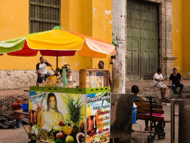 Ruby Rumié's neighborhood -- 10, Cartagena, Colombia