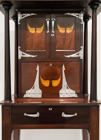 "Secretary, 1901, For ""The Officers's Ideal Quarters"", 1901 London Earl's Court Military Exhibition, Harry Napper (British, 1860 - 1930), designer, at the Wolfsonian, Miami Beach, Florida, USA"