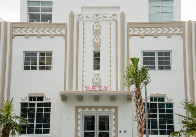 Taft Hotel (1936), South Beach Art Deco District, Miami Beach, Florida, USA