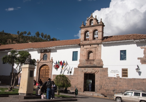 Belmond Palacio Nazarenas (Hotel) -- a beautifully restored 16th century convent, Cuzco, Peru