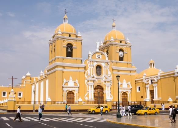 Catedral de Santa María, (Cathedral of Santa Maria), constructed 1647-1666, Trujillo, Peru