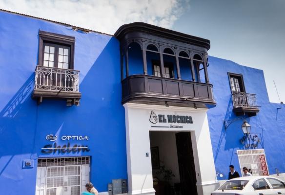 El Mochica Restaurant, Trujillo, Peru