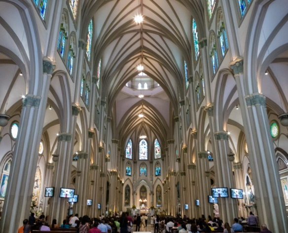 Interior (renovated in 1978), Catedral Metropolitana de Guayaquil (Metropolitan Cathedral of Guayaquil), Guayaquil, Ecuador