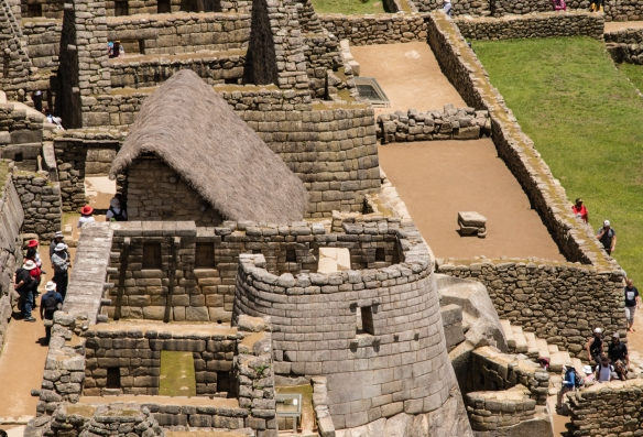 Temple of the Sun in the Upper Urban Sector of Machu Picchu, Peru