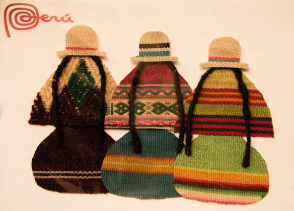 Welcome to the Andes region of Peru -- postcard in Cuzco (in English, Cusco), Peru