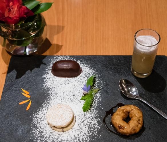 Assorted local Peruvian desserts, Belmond Sanctuary Lodge, Machu Picchu, Peru