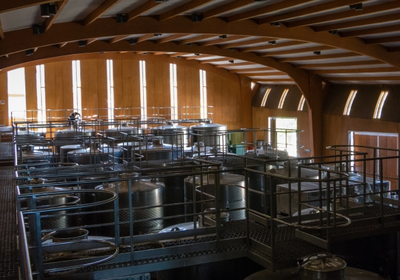 Loma Larga's winery is very modern with the latest equipment, Lo Ovalle, Casablanca Valley, Chile