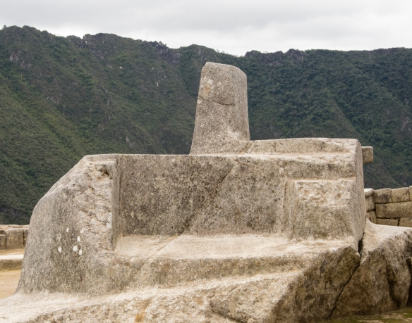 The Intihuatana stone (meaning 'Hitching Post of the Sun') has been shown to be a precise indicator of the date of the two equinoxes and other significant celestial periods at Machu Picchu, Peru