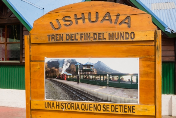 El Tren del Fin del Mundo (End of the World Train), Parque Nacional Tierra del Fuego (Tierra del Fuego National Park), Ushuaia, Argentina