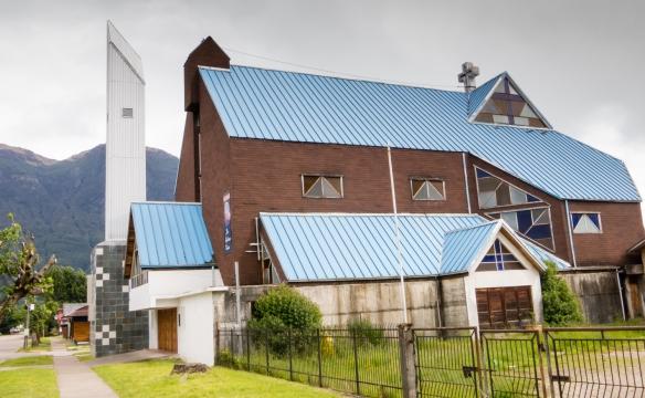Iglesia Catedral (the main church), Puerto Aysén, Patagonia, Chile