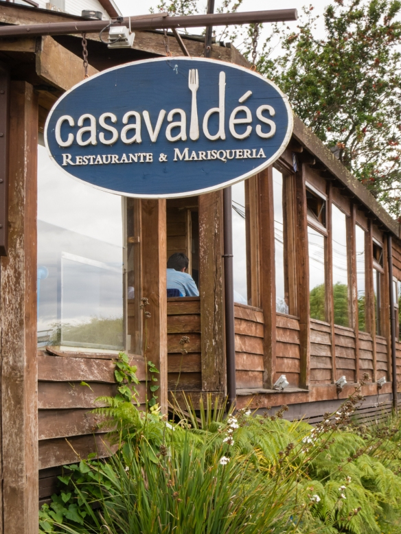 Recommended by a local guide, Casa Valdes served outstanding fresh seafood for a great lunch overlooking Lago Llanquihue, Puerto Varas, Chile