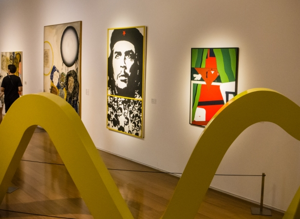 "A selection from the permanent gallery collection, ""XX century Latin American art"" at the MALBA modern art museum, Buenos Aires, Argentina"