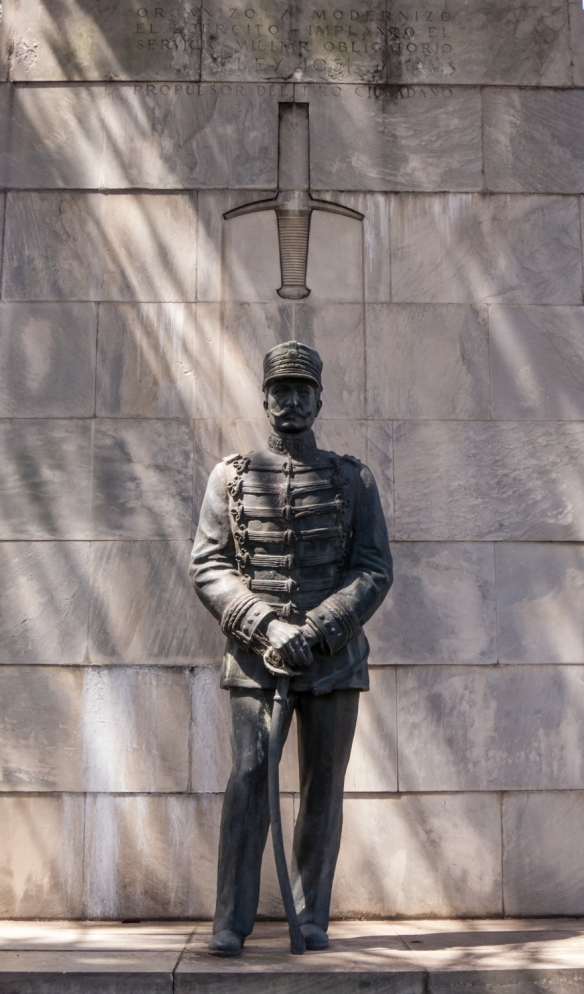 A tribute to the Argentinian military, Recoleta cemetery, Buenos AIres, Argentina