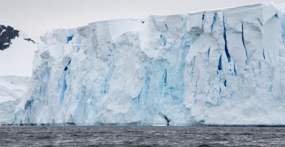 Andvord Bay glacier face, Antarctica