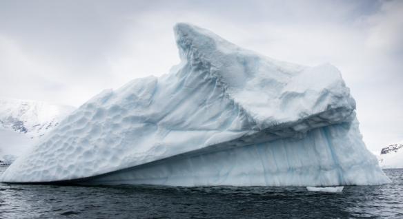 Andvord Bay iceberg, Antarctica