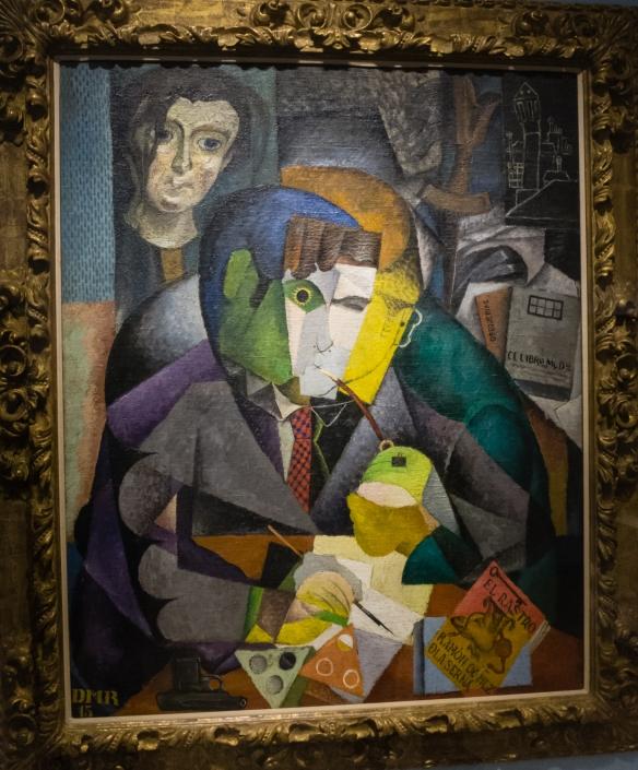 "Diego Rivera (Mexico, 1886 - 1957), ""Portrait of Sir Ramon Gomez de la Serna"",  MALBA modern art museum, Buenos Aires, Argentina"