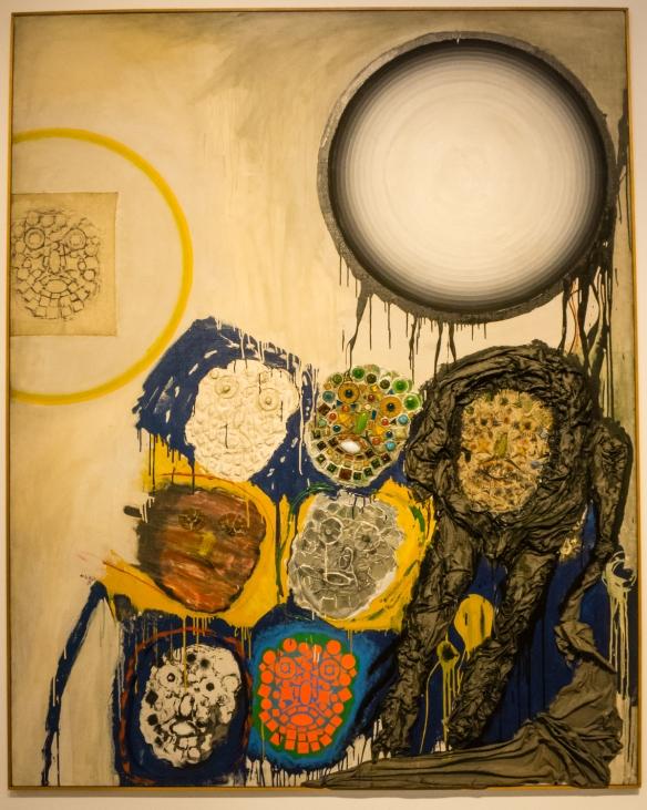 """Jorge de la Vega (Argentina, 1930 - 1971), """"El dia ilustrisimo"""" (The Illustrious Day),  MALBA modern art museum, Buenos Aires, Argentina"""