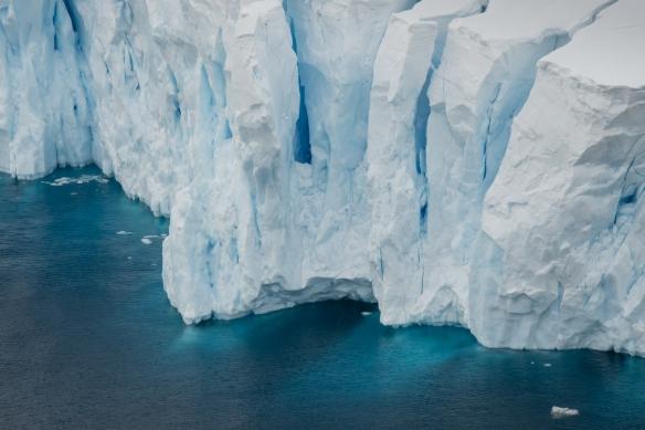 Neko Harbor glacier face, Antarctica