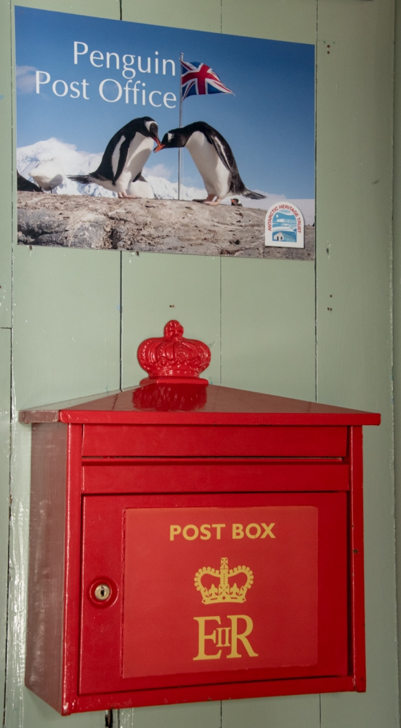 Penguin Post Office -- the only working post office in Antarctica, British Base A, Port Lockroy, Antarctica