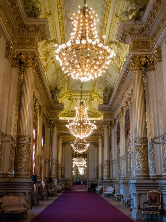 Salón Dorado (The Golden Room) of Teatro Colón (Columbus Theatre, the main opera house), Buenos Aires, Argentina