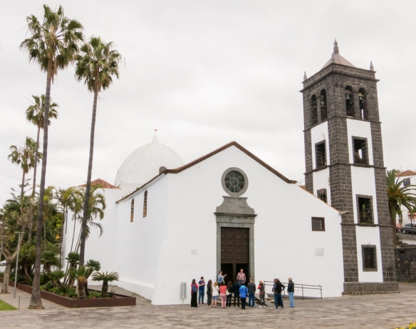 San Pedro Apostol Church, built in 1515 by order of Queen Joan of Castille, El Sauzal, Tenerife, Canary Islands