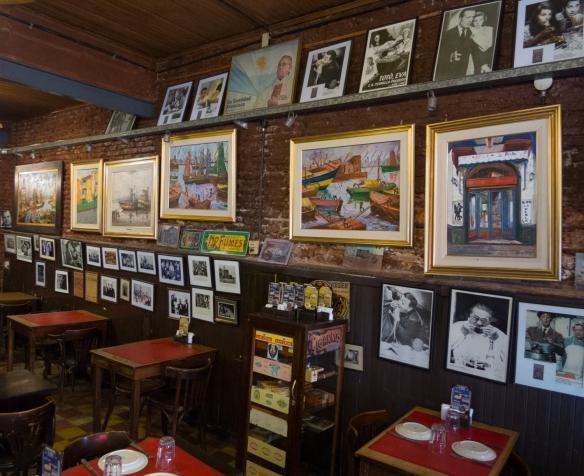 The interior of La Peria de Caminito in La Boca, Buenos Aires, Argentina--