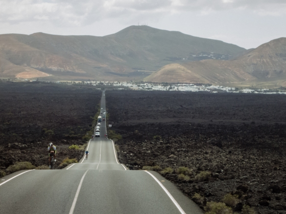 The road form the town of Yaiza to Parque Nacional de Timanfaya (Timanfaya National Park) -- they could have filmed part of Star Wars here!; Lanzarote, Canary Islands