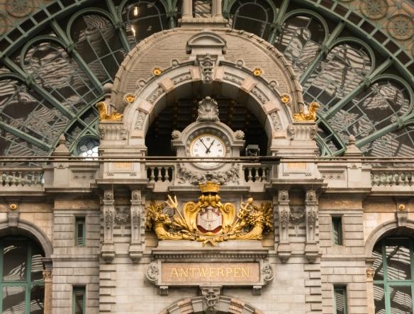 Antwerpen-Centraal (Antwerp Central Railway Station), Antwerp, Belgium