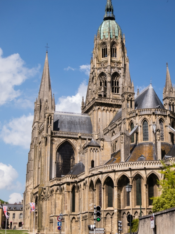 Bayeux Cathedral, Bayeux, Normandy region, France