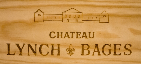 Château Lynch-Bages winery dates back to 1850 in the heart of Pauillac with vineyards overlooking the Gironde estuary in the Bordeaux region of France