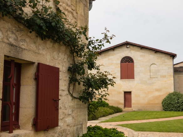 Château Lynch-Bages' winery is housed in a building from the late 16th century, Pauillac, Gironde, France