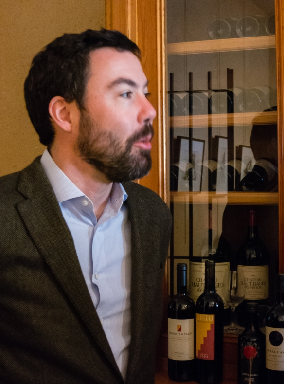Jean-Michael Cazes, Proprietor, Château Lynch-Bages, Pauillac, Gironde, France