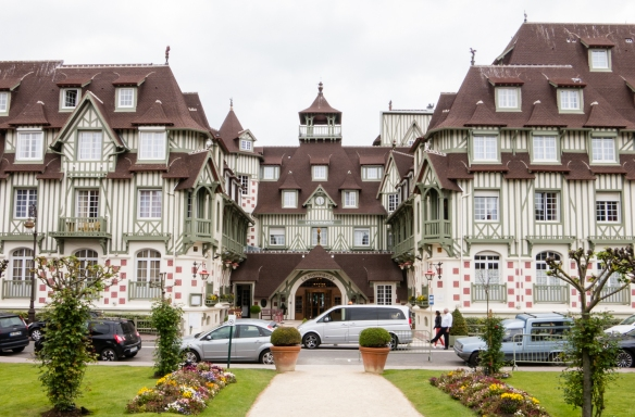 Le Normandy Hotel in downtown Deauville, near the Deauville Casino, Normandy region, France