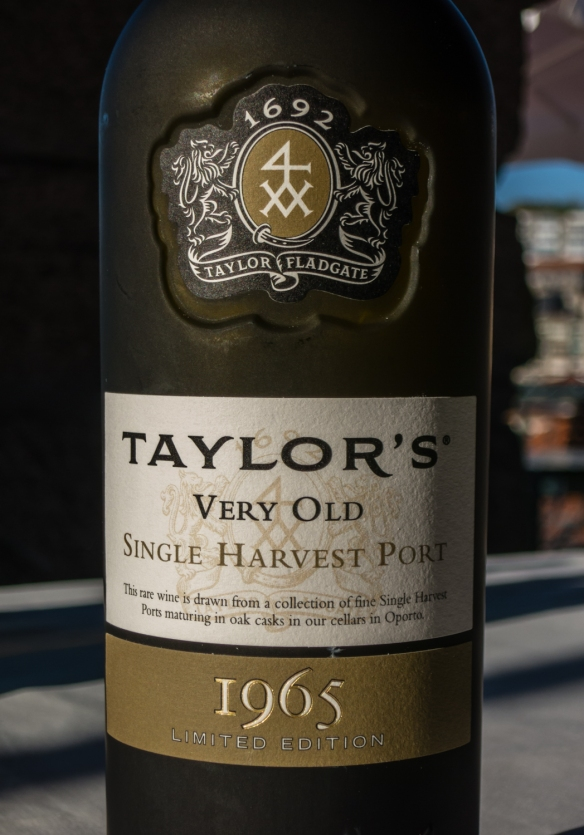 Our absolute favorite was the rare, 50-year-old 1965 Tawny Port, Porto (Oporto), Portugal