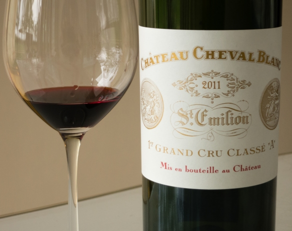 Our tasting for the morning was a magnificent 2011 Château Cheval Blanc at the winery in Saint-Émilion, Bordeaux region, France