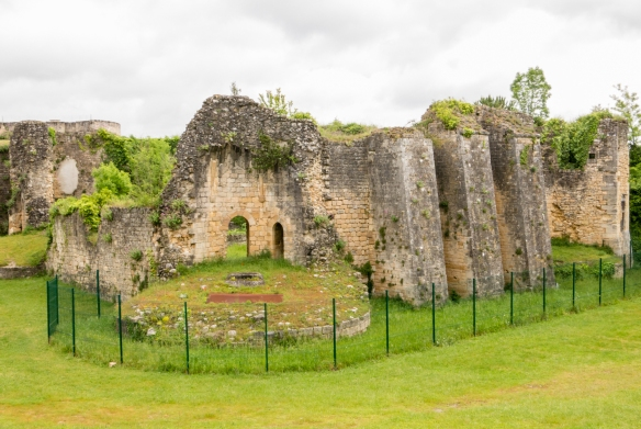 Ruins of the Castle of Rudel dating back to the seventh century A.D., Blaye Citadel, Blaye, Bordeaux region, France