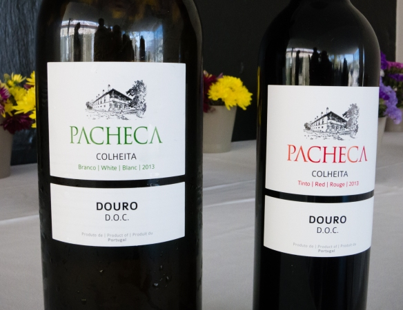 Some of the wines tasted at Quinta da Pacheca, Lamego, Douro Valley, Portugal