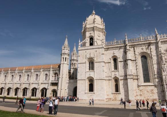 The facade of Mosteiro dos Jerónimos (St. Jerone's Monastery), Lisboa (Lisbon), Portugal