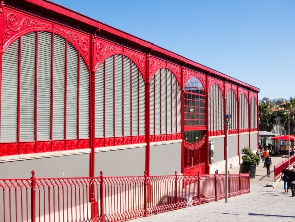The former central city market is now a concert venue, Porto (Oporto), Portugal