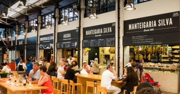 Time Out Mercado da Ribeira is Time Out's transformation of Lisbon's main market hall into a foodie hangout; Portugal