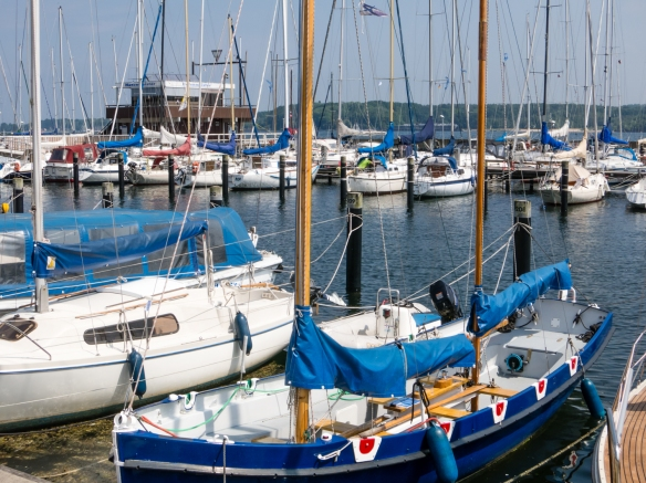 Known as the city that hosts the world's largest sailing regatta (18 – 26 June, this year), Kiel, Germany has a multi-kilometer Embankment that is home to hundreds and hundreds of sail boats