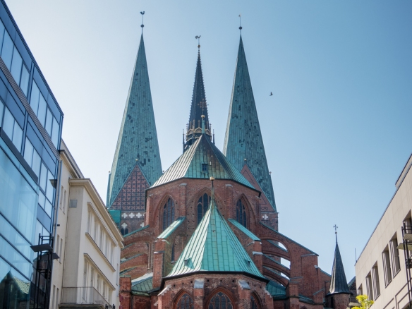St. Mary's Church in Altstadt (old town), Lübeck, Germany