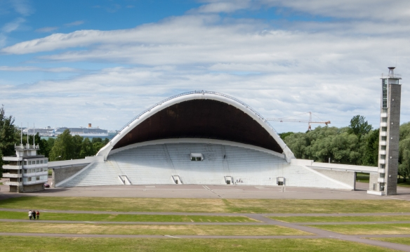 "The Tallinn Song Festival Grounds is where in 1988 the Spring Revolution set Estonia on its road towards independence; the site now hosts the ""Song and Dance Celebration"" every 5 years with 24,000 singers and 200,000 spectators"