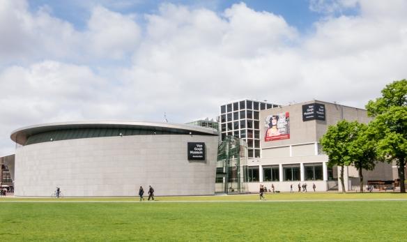 Van Gogh Museum, Museumplein, Amsterdam, Netherlands