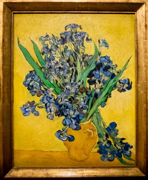 "Vincent van Gogh, ""Irises"", 1889, Van Gogh Museum, Museumplein, Amsterdam, Netherlands"