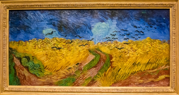 "Vincent van Gogh, ""Wheatfield with Crows"", 1890, Van Gogh Museum, Museumplein, Amsterdam, Netherlands"